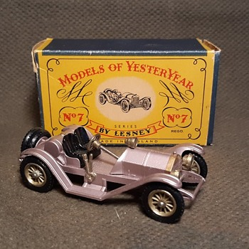Mike Murray Moe Mercy Matchbox Monday Y-7 Mercer 1913 Raceabout Type 35 J 1961 - Model Cars