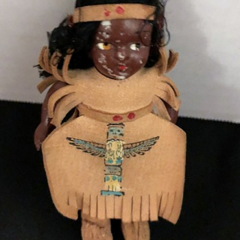 Little American Indian Doll - Dolls