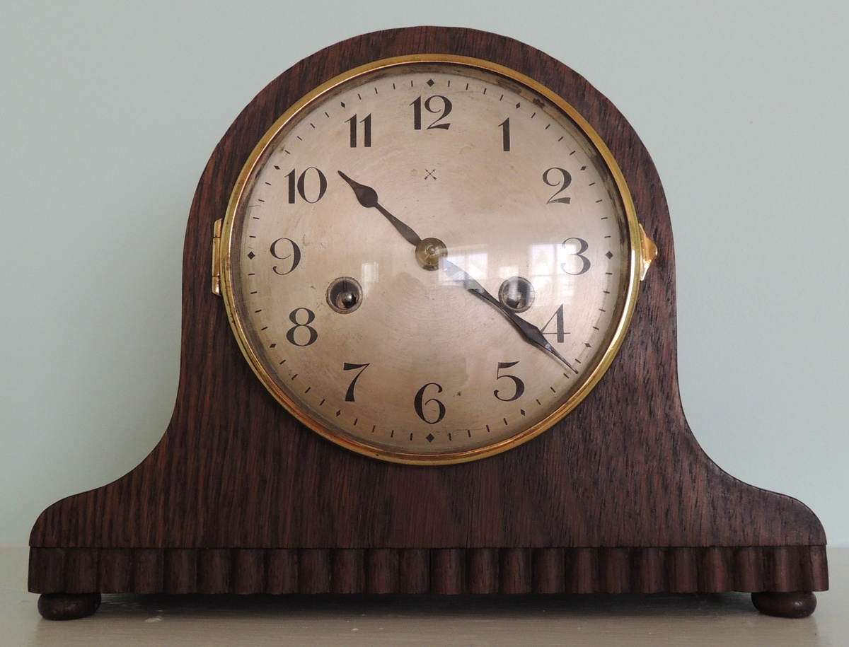Hac mantel clock made in wurttemberg collectors weekly amipublicfo Images