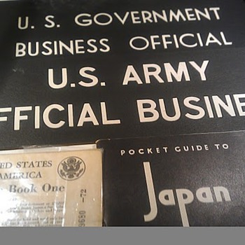 WWII US Army signs - Military and Wartime