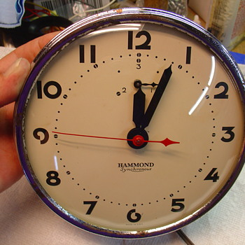 "HAMMOND ""HAMPTON"" electric kitchen clock - Clocks"