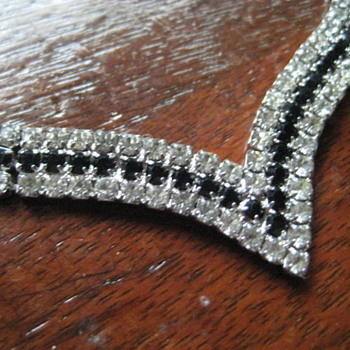 Trio of Rhinestone Finds - Costume Jewelry