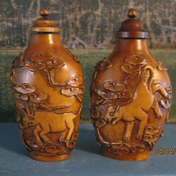 antique Snuff Bottles - Bottles