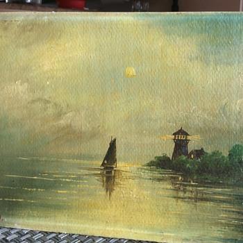 Water scene - Fine Art