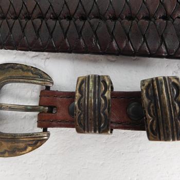 Help Identify Sterling Hallmark on Belt Buckle - Accessories