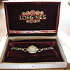 Grandmother's Antique Longines Wristwatch With Case