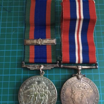 My Grandfather's WWII Medals  - Military and Wartime
