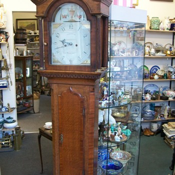 Dickinson Grandfather Clock circa 1790 - Clocks