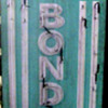 Vintage 1970's MAX'S BAIL BONDS Antique Neon Wood Sign Tall