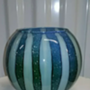 Could this be an Aurther or Douglas Nash glass?vase?
