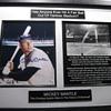 Mickey Mantle . . . Signed Descriptive Photo
