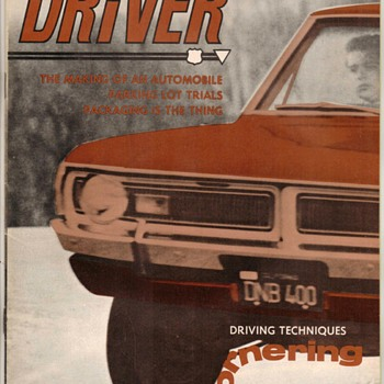 "USAF ""Driver"" Magazine - March 1970"