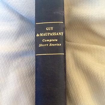 Guy de Maupassant stories - Books