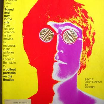 January 9, 1968 Look magazine Avedon cover - Music Memorabilia