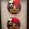 Ringo's personally owned tour pins-2001