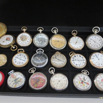 A Few Favorites - Pocket Watches