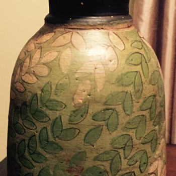 Red clay vase - Pottery