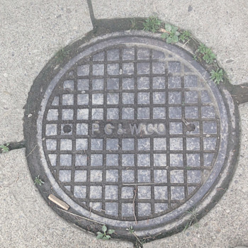 PG&W Manhole Cover - Tools and Hardware