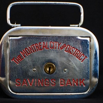The Montreal City and District Savings Bank - Coin Operated