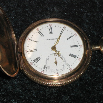 American Waltham Watch Co. Hunting Case Pocket Watch