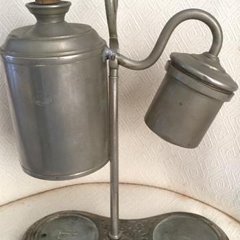 German student oil lamp - Lamps