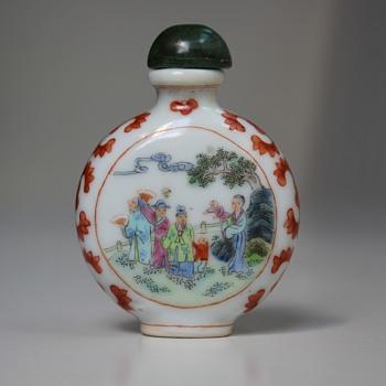 Porcelain Snuff Bottle - Asian