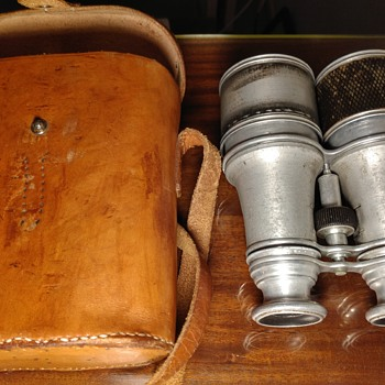 WW1 131st Light Weight Binoculars - Military and Wartime