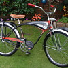 My Rare 1956 BF Goodrich Schwinn Built Black Phantom Suvivor!