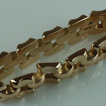 Cool big and bold retro bracelet - Costume Jewelry
