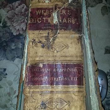 Webster's Original Edition Dictionary