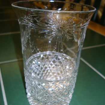 Old quality stemware identification required - Glassware