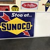 Sunoco gas station road sign