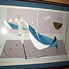 Charles Harper Blue Jay Serigraph