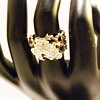 Vintage Panetta Perching Frog Chain Link Ring