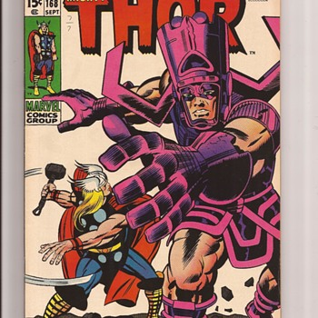 Galactus & Thor by Jack the King Kirby - Comic Books