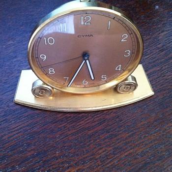 Cyma Swiss Made clock. - Clocks