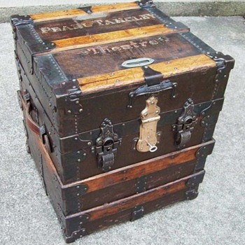 Taylor Ticket Trunk, Theatrical - Furniture