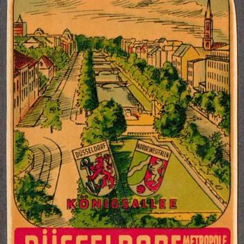 Travel Decal - Dusseldorf (Germany) - Advertising