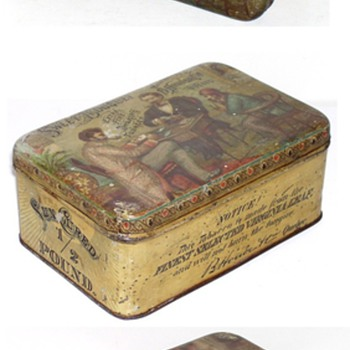 sweet bouquet  tobacco tin b houde quebec  - Tobacciana