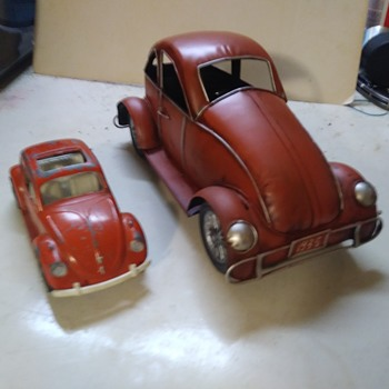 A Couple of Beetles - Model Cars