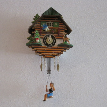 Minature German Cuckoo Clock