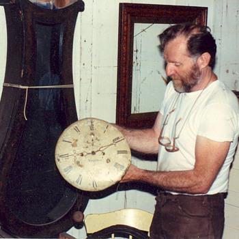 Pine clock - Clocks