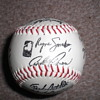 Signed Baseball ( 26 signitures )