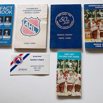 1980s-90s Hockey Publications - Hockey