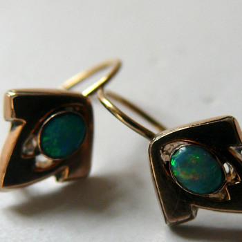 art nouveau earrings - Art Nouveau