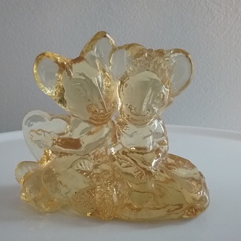 Imperial Glass sweetheart mice - Animals