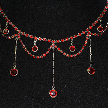 Victorian Style Necklace  - Costume Jewelry