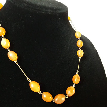 Art Deco carnelian necklace for £1! - Art Deco