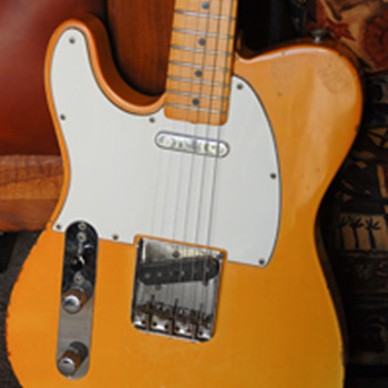 1967  Lefty Fender Telecaster - Guitars