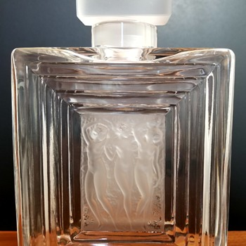 Lalique Duncan Flacon No. 2 Perfume Bottle - Art Glass